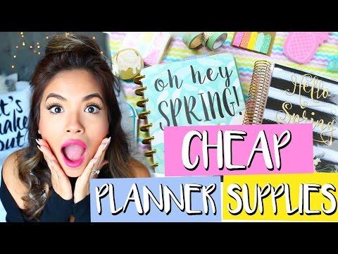 Where To Find Cheap Planner Supplies | Belinda Selene