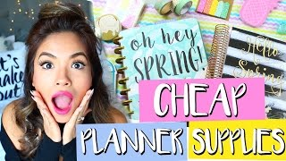 Where to find cheap cute planner supplies! Spanish Channel: https://goo.gl/at2lKy Vlog Channel: http://www.youtube.com/