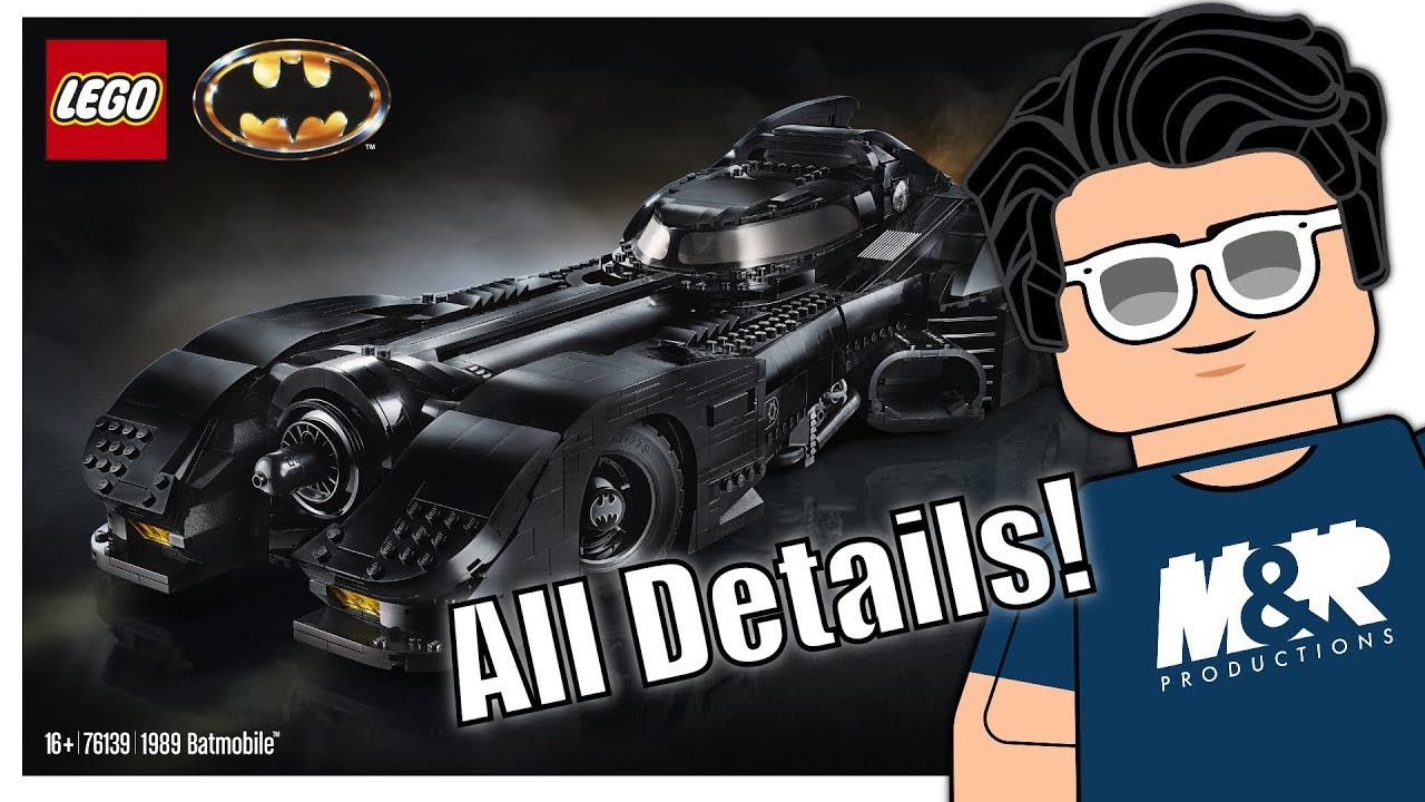 LEGO 1989 BATMOBILE! Price, Release Date, & Pictures!