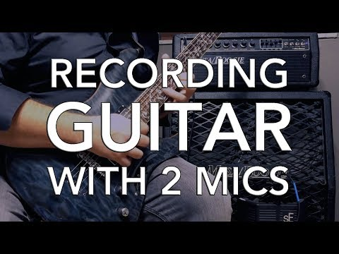 sE Electronics Guitar Recording Package | Using TWO Mics for Guitar Recording