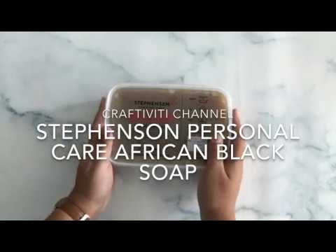 Craftiviti Stephenson Personal Care Crystal African Black Soap
