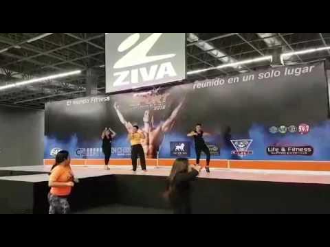 Dánzika clase Expo Sport Guadalajara 2016