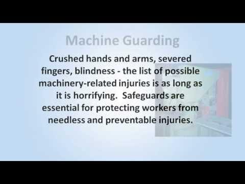 Machine Guarding Training