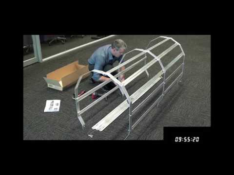 How To Assemble a KATTCLIMB Ladder Cage In Under 16 Minutes | FIXFAST USA