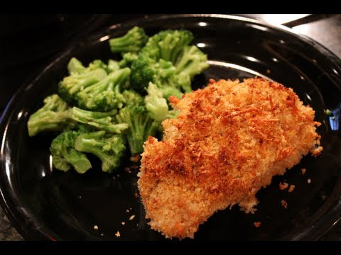 High-Protein Muscle Building Meal:  Healthy Oven-Fried Chicken