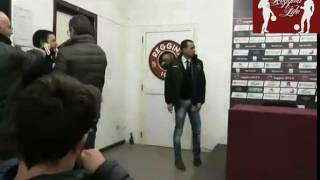 Reggina-Lecce 1-2 Conferenza Stampa intera post-partita (18/02/2017)