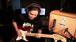 GITAR SOLO LAGU-LAGU MELAYU POPULAR - Featuring Oja using Orange Rocker 32 Stereo Tube Amplifier