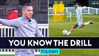 Cairney vs Knockeart ULTIMATE Volta shooting drill! | You Know The (Volta) Drill | Fulham