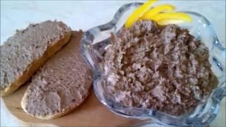 Печеночный паштет Рецепт печеночного паштета  Homemade Liver Paste
