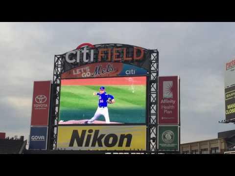 New York Mets 2016 Starting Lineups
