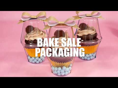 Reese's Cupcake Recipe With Bake Sale Packaging Ideas