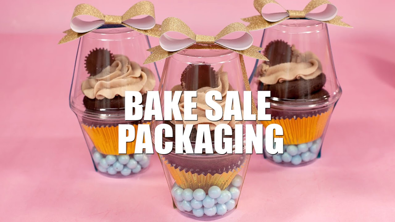 reese s cupcake recipe with bake sale packaging ideas youtube