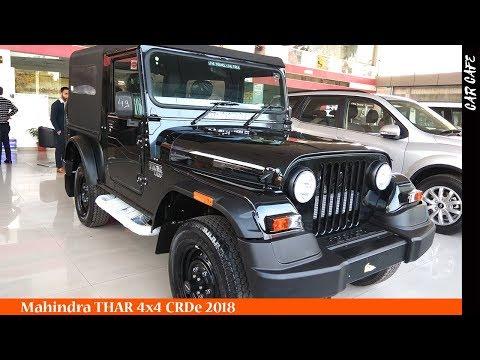 Mahindra Thar 4x4 CRDe 2018 Hindi Review || Car Cafe