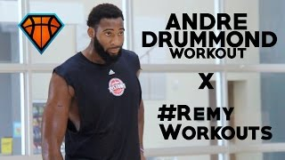 Andre Drummond Goes To Work With #RemyWorkouts!! | Pistons Center Is A Future NBA All-Star
