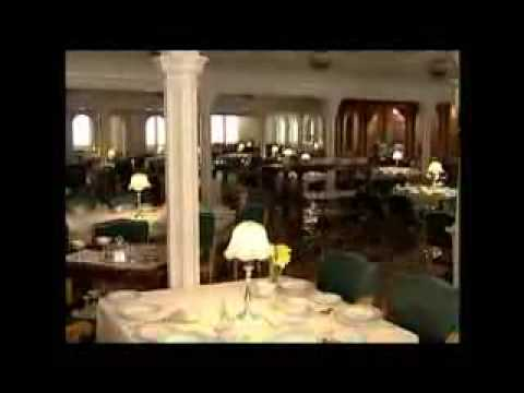 titanic behind the scenes flooding the dining saloon - youtube