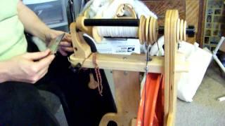 Spinning Worsted Single Yarn