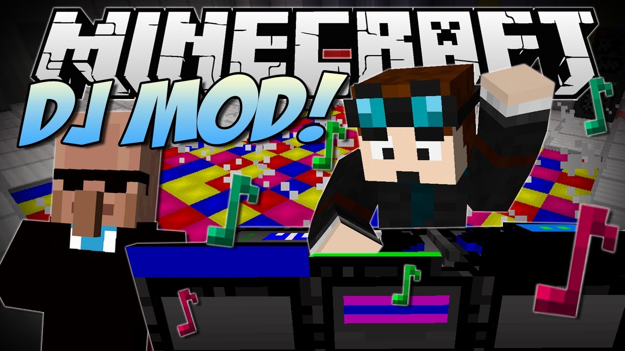 Minecraft | DJ PARTY MOD! (Dr Trayaurus' Ultimate Party!) | Mod ...