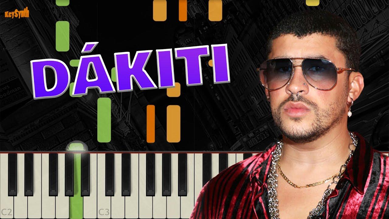 Download Dakiti - Bad Bunny x Jhay Cortez - Piano Tutorial - Synthesia - KeySynth