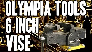 "Olympia Tools 6"" Bench Vise 38-647 Single Hand / Quick Release"