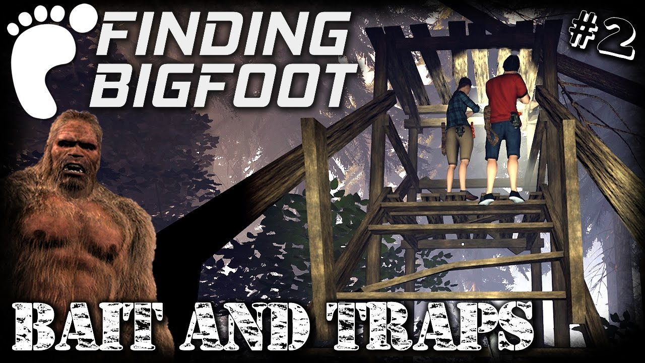 Finding Bigfoot | Bait And Traps | EP2 Hunt 2 MP | Let's Play Finding  Bigfoot Gameplay