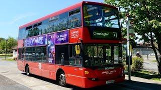 London Bus Route 71 - Chessington To Kingston - Subtitles