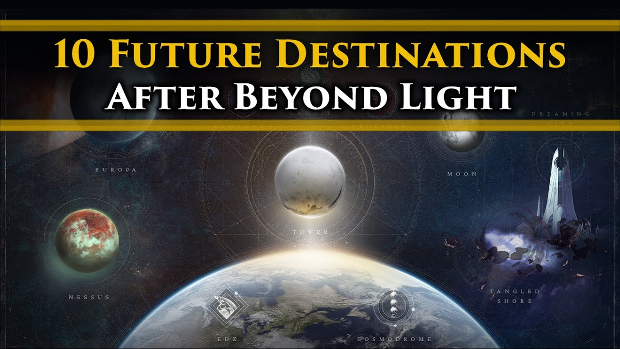 Destiny 2 Lore - 10 Future Destinations that we might visit after Beyond Light!