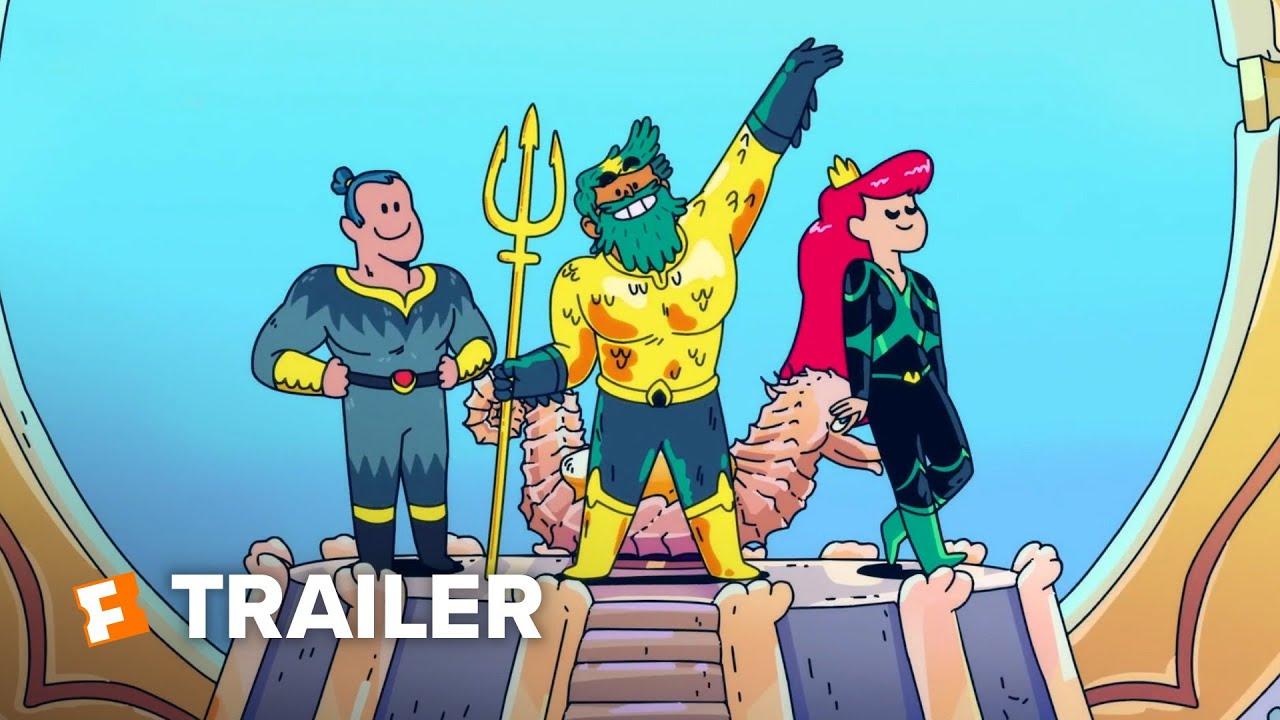 Aquaman: King of Atlantis Mini-Series Trailer   Fandango Family