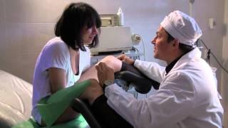 Гинеколог Валерий Храпов принимает беременную.(, 2011-04-19T07:54:20.000Z)