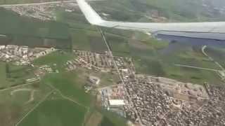 اقلاع من مطار الجزائر هواري بومدين Takeoff  Algiers airport