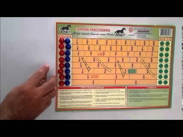 Juegos Didacticos Matematicos Carrera Fraccionaria Clip Fail