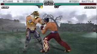 Tekken: Dark Resurrection (PSP) Story Battle as King