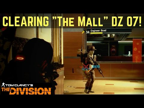 The Division Solo Dark Zone: Clearing The Mall DZ 07 Landmark!