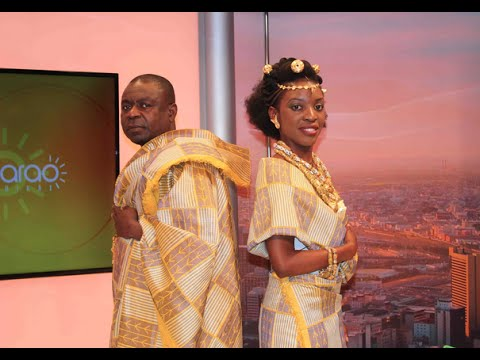 La tenue de mariage Akan - Kitoko ya Afrika - YouTube