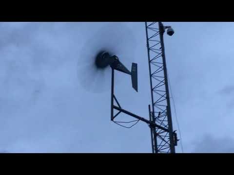 Wind Turbine Sound like a Freight Train in Hurricane Maria
