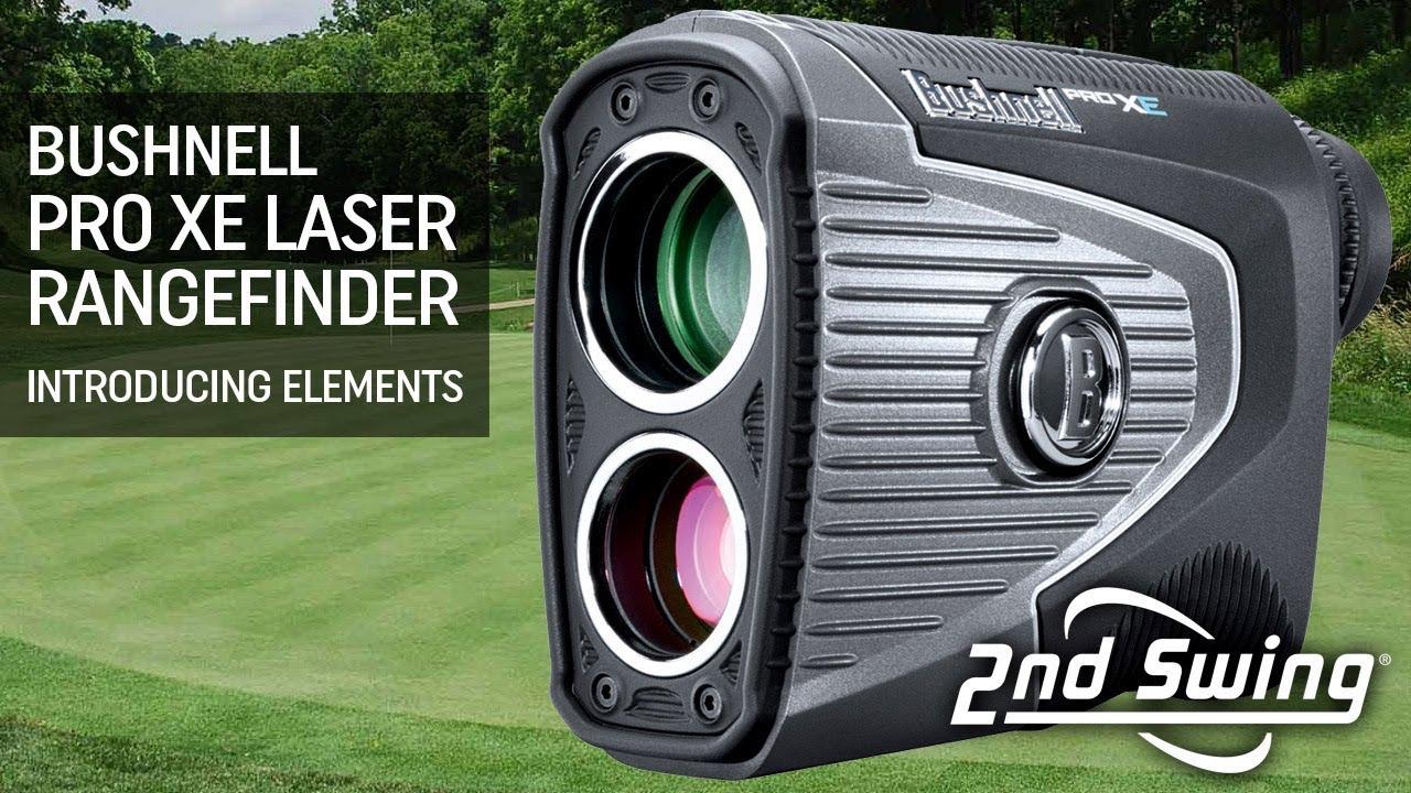 Bushnell Pro XE Laser Rangefinder - Introducing Elements - YouTube