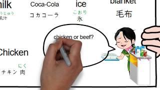 (trip, in-flight, traffic), Learn Japanese & English in cartoon.  한 컷 만화로 외국어 배우기, 영어&일어(여행-기내)