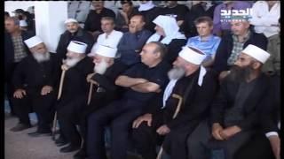 وهاب في بلدة الحضر السورية في جبل الشيخ   26-6-2015