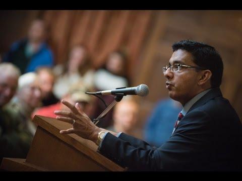 Conservative Commentator D'Souza Discusses Clintons, Corruption, Own Incarceration