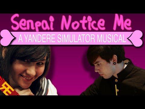 Senpai Notice Me: A Yandere Simulator Musical [by Random Encounters]