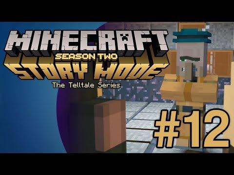 Minecraft Story Mode S2 (E3) #12 - Zombie Mines