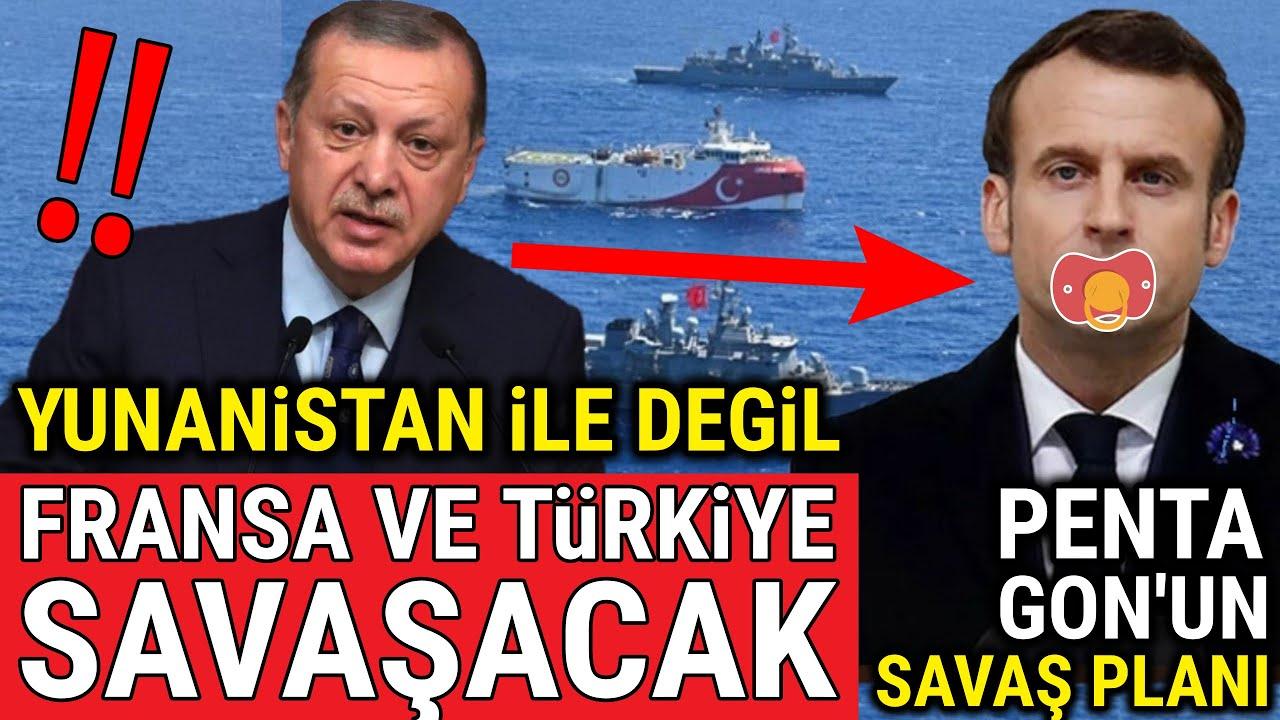 Pentagon'un Gizli Savaş Planı..!!! Fransa ve Türkiye Savaşa Sürüklenecek..