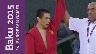روسيا تتوج بـ5 ذهبيات في مصارعة السامبو في دورة الألعاب الأوربية