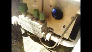 Как проверить тягу в напольном газовом котле.
