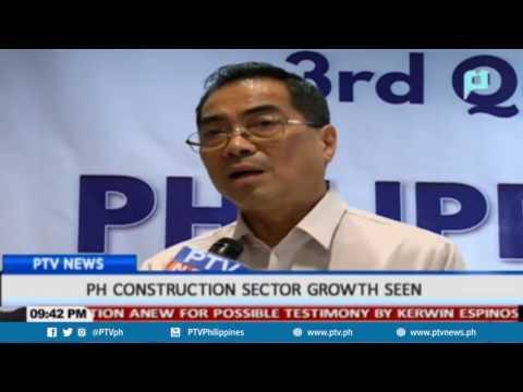 PTV News : Philippine Constructions Growth