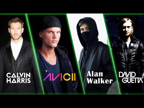 Alan Walker, Avicii, David Guetta, Calvin Harris Top Mix - Best Edm Songs
