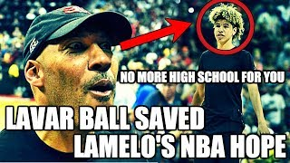 How lavar ball saved lamelo ball's nba hopes