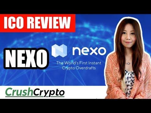 ICO Review: Nexo (NEXO)  - Instant Crypto Overdrafts