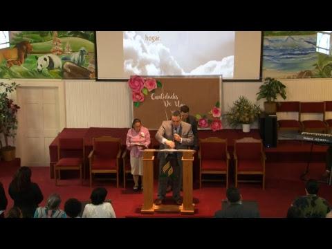Sabado 12 de Mayo, Pastor Arodis Hidalgo