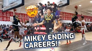 Mikey Williams Can't Stop DUNKING ON PEOPLE! Overrated Chants After He Dunked On The Whole Team 🥴