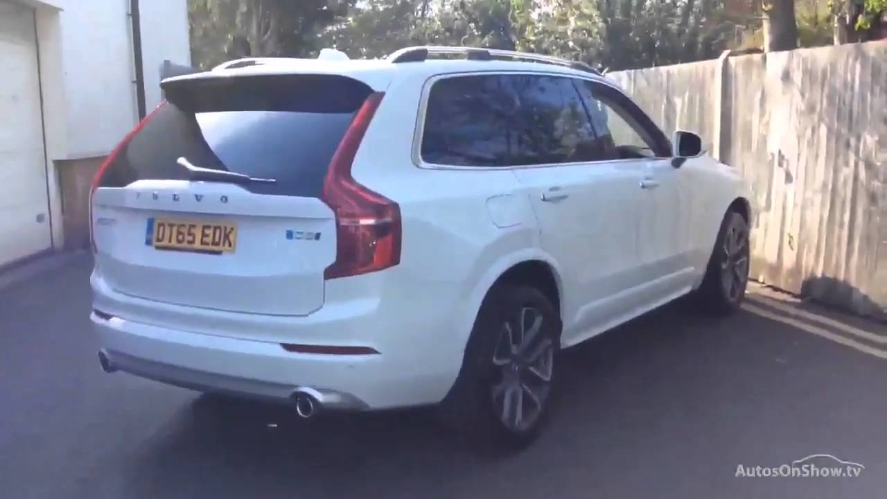volvo xc90 d5 momentum awd white 2016 youtube. Black Bedroom Furniture Sets. Home Design Ideas